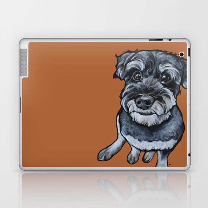 Frankie the Schnoodle Laptop & iPad Skin