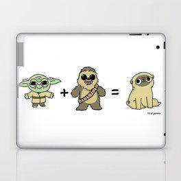 The origin of pugs Laptop & iPad Skin