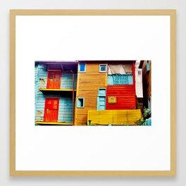 El Caminito III Framed Art Print