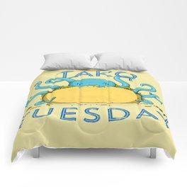 Tako Tuesdays Comforters