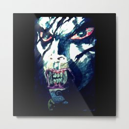 Sensing Blood Metal Print