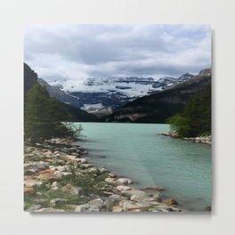 Lake Louise Impression Metal Print