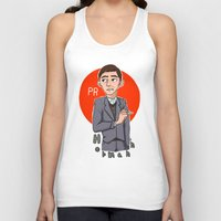 pacific rim Tank Tops featuring Herman Gottlieb Pacific Rim by TheDigitalPandora