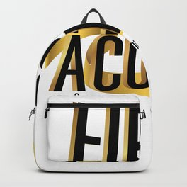 Cure Support Childhood Cancer Awareness Backpack