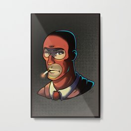 Red Spy! Metal Print
