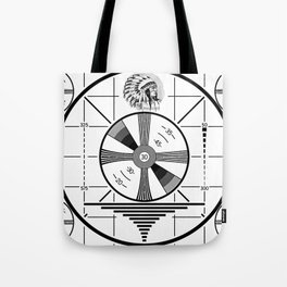 Indian-Head Test Pattern Tote Bag