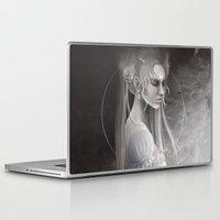 sailor moon Laptop & iPad Skins featuring Sailor Moon by Nicolas Jamonneau