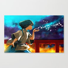 The Dragon Boy Canvas Print