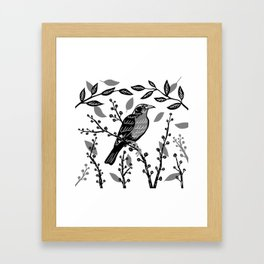 Loica Framed Art Print