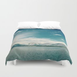Nautical Tetons Duvet Cover