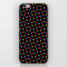 RED GREEN BLUE COSMOS iPhone & iPod Skin