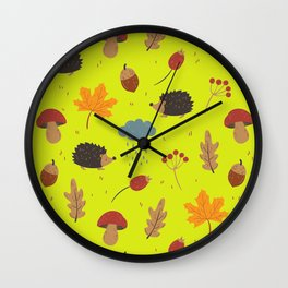autumn collection Wall Clock