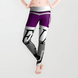 Identity Stamp: Asexual Leggings
