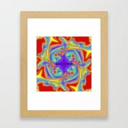 Do you boo rainbow Framed Art Print