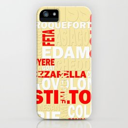 Graphic Cheese iPhone Case