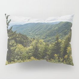 Smoky Mountain Haven - Nature Photography Pillow Sham