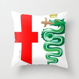 Alfa Romeo logo interpretation! Throw Pillow