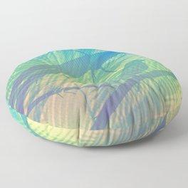 Palm bird Floor Pillow