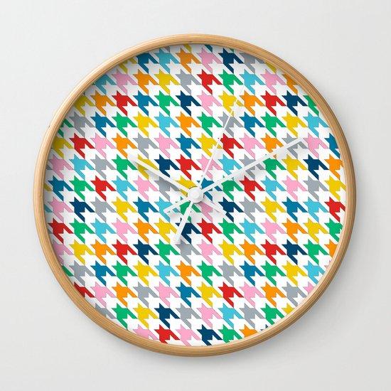 Puppytooth Wall Clock