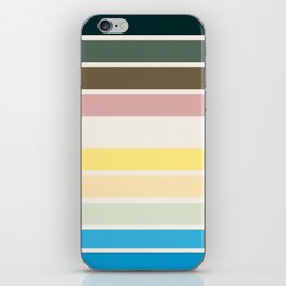 The colors of - Nausicaa iPhone Skin