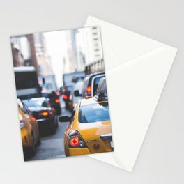 TAXI - CAB - CITY - CARS - PHOTOGRAPHY Stationery Cards