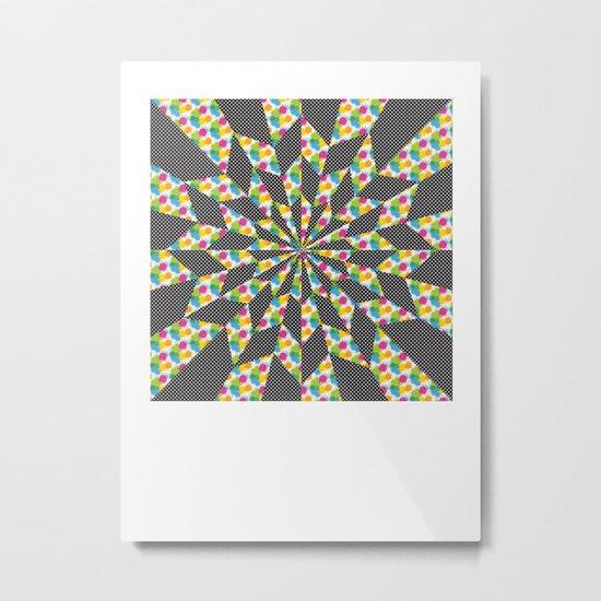 Kaleidoscope - Optical work 4 Metal Print