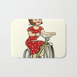 Bicycle. Bath Mat
