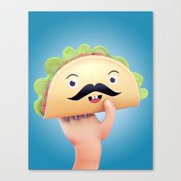 Super Taco! Canvas Print