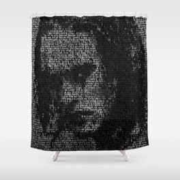 Eric Draven: The Crow Shower Curtain