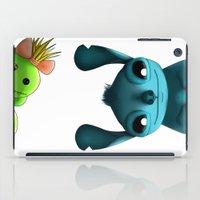 stitch iPad Cases featuring Stitch  by KimiSukini