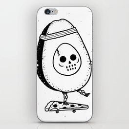 Pizzacado iPhone Skin