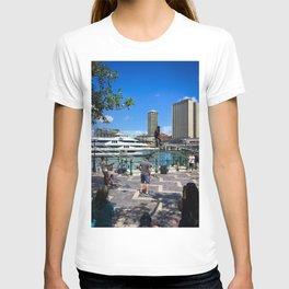 Busking Around Circular Quay T-shirt
