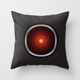 2001: A Space Odyssey - HAL 9000 Throw Pillow