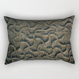 Tracks in the Sand Rectangular Pillow