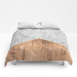 Concrete Arrow Wood #345 Comforters