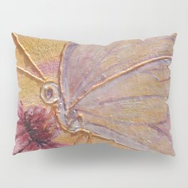 Little mirror butterfly | Petit Miroir papillon Pillow Sham