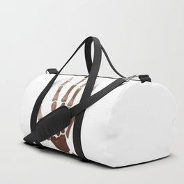 Isolated Boney Hand Duffle Bag
