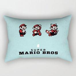Super Mario Bros 3 Rectangular Pillow
