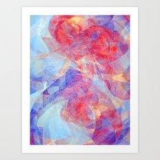 Sweet Rift Art Print