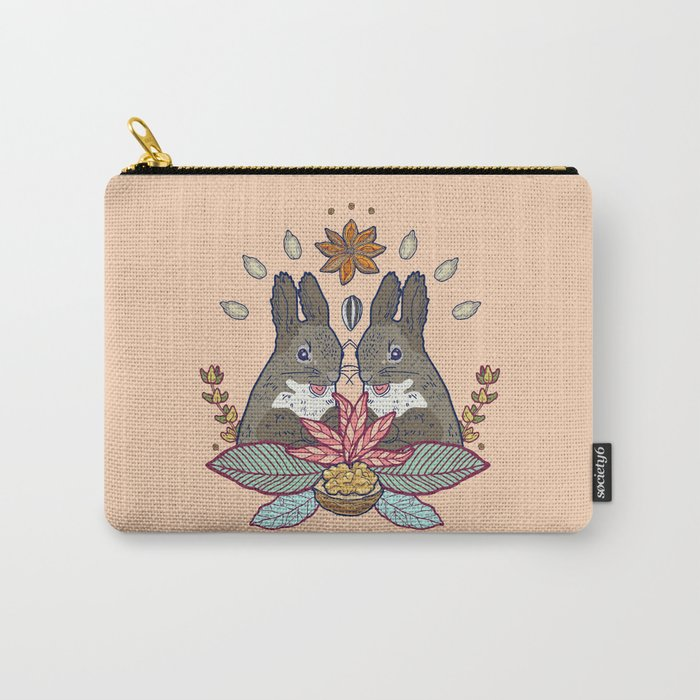 squirrel love Carry-All Pouch