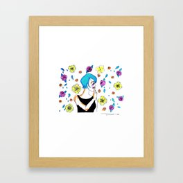 shhh Framed Art Print