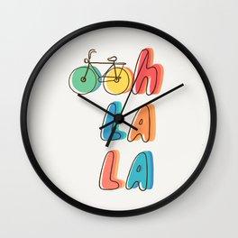 Ohh la la Wall Clock