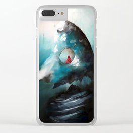 Totems Vertical Clear iPhone Case