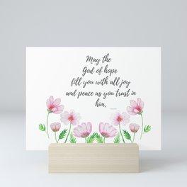God of  Hope Mini Art Print