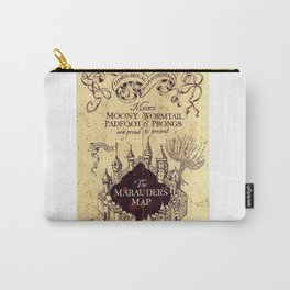Map Harry poter castle, The Marauders Map Carry-All Pouch