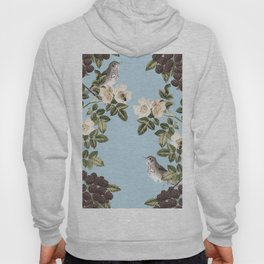 Birds and the Bees Blue Hoody