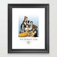 The Serenity Club Framed Art Print