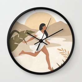 Magic Happens when you Don't Give Up Wall Clock