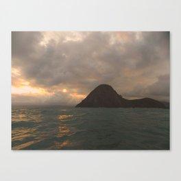 sea mountain Canvas Print
