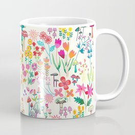 The Odd Floral Garden I Coffee Mug